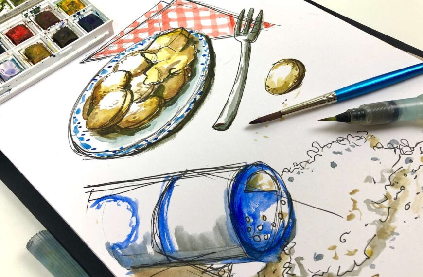 Toolbox Tuesday #1 – water color
