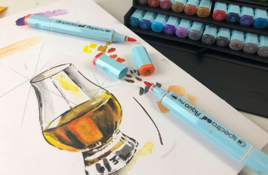 Toolbox Tuesday #3 – watercolor  markers