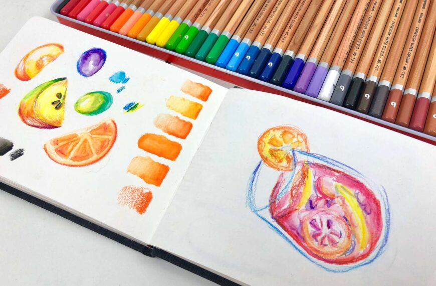 Toolbox Tuesday #2 – water color pencil