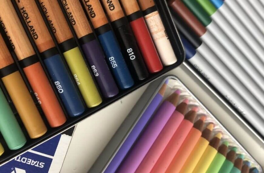 Toolbox Tuesday #10 – coloured pencils